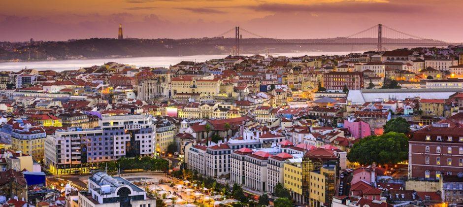 Vista de la ciudad de Lisboa